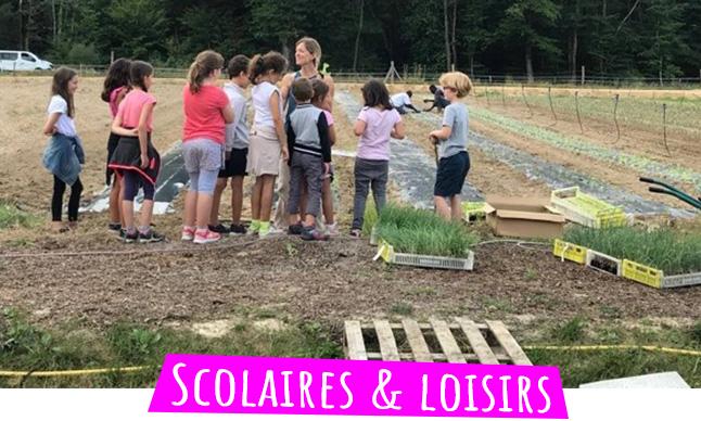 visite pedagogique groupes scolaires et centre de loisirs domaine ecoline à sadirac
